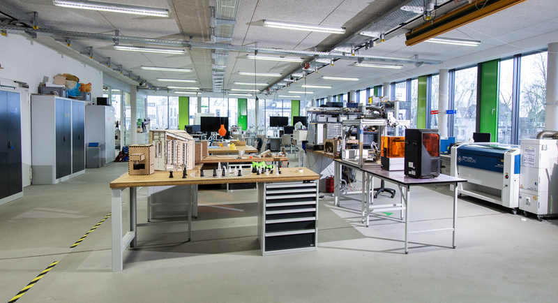Ce FabLab est situé à   Kamp-Lintfort  en Allemagne